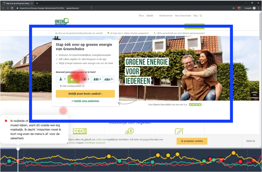 Greenchoice case image of website